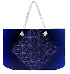 Space Time Sine Cosine And Tangent Waves Weekender Tote Bag