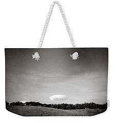 Spaceship Weekender Tote Bag by Dave Bowman