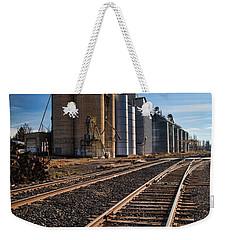 Spangle Grain Elevator Color Weekender Tote Bag