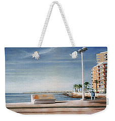 Spanish Coast Weekender Tote Bag