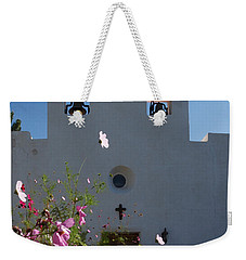 Weekender Tote Bag featuring the photograph Spanish Mission by Susan Rovira