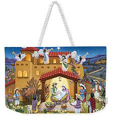 Spanish Nativity Weekender Tote Bag