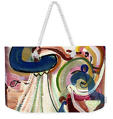 Spanish Rose Weekender Tote Bag