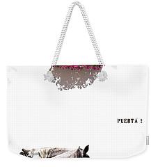 Spanish Scene Weekender Tote Bag