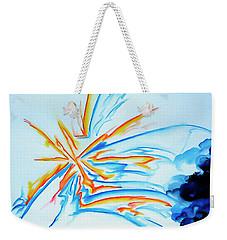 Spark Weekender Tote Bag by Heather  Hiland