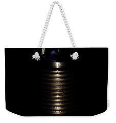 Spark Plug Weekender Tote Bag