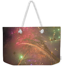 Sparked Sky Weekender Tote Bag