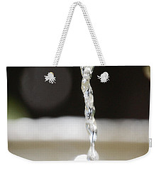 Weekender Tote Bag featuring the photograph Sparkle by Leticia Latocki