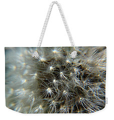 Weekender Tote Bag featuring the photograph Sparkler - Closeup by Ramabhadran Thirupattur