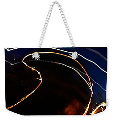 Weekender Tote Bag featuring the photograph Sparkler by Joel Loftus