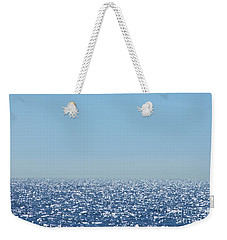 Weekender Tote Bag featuring the photograph Sparkling Ocean Atmosphere by Kristen Fox