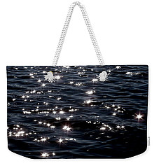 Sparkling Waters At Midnight Weekender Tote Bag