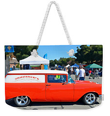 Special Delivery Weekender Tote Bag by David Lawson