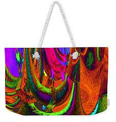 Spelunking On Venus Weekender Tote Bag by Alec Drake