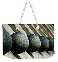 Spheres And Steps Weekender Tote Bag