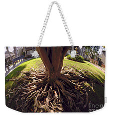Weekender Tote Bag featuring the photograph Spherical Rooting by Clayton Bruster