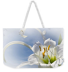 Spider Lily Weekender Tote Bag by Jane McIlroy