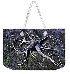 Spider Roots At Manasquan Reservoir Weekender Tote Bag by Gary Slawsky