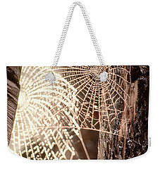 Spider Webs Weekender Tote Bag by Anonymous