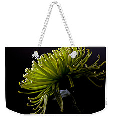 Weekender Tote Bag featuring the photograph Spike by Sennie Pierson
