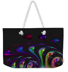Spin Off Weekender Tote Bag by Judi Suni Hall