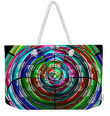 Spinning Top Weekender Tote Bag