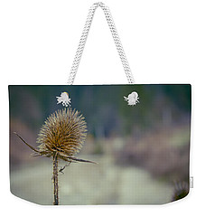 Spiny Weed Close-up Weekender Tote Bag