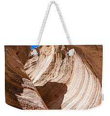 Spiral At Tent Rocks Weekender Tote Bag by Roselynne Broussard