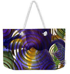 Spiral Iris Weekender Tote Bag