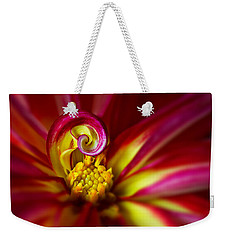 Spiral Weekender Tote Bag by Mary Jo Allen