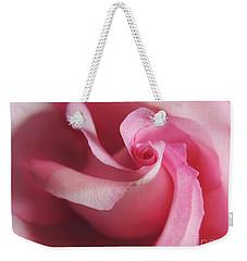 Spiral Rose Weekender Tote Bag