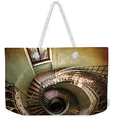 Spiral Staircaise With A Window Weekender Tote Bag