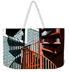 Spiral Stairs - Color Weekender Tote Bag
