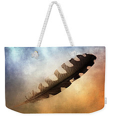 Spirit Feather Weekender Tote Bag