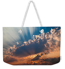 Weekender Tote Bag featuring the photograph Spirit In The Sky by Jack Bell
