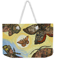 Spirit Lights Weekender Tote Bag by Emily McLaughlin