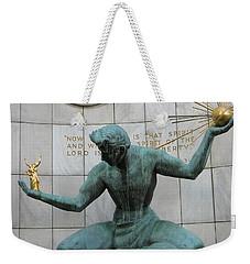 Spirit Of Detroit Weekender Tote Bag