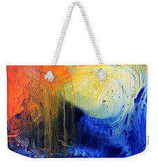 Spirit Of Life - Abstract 7 Weekender Tote Bag by Kume Bryant