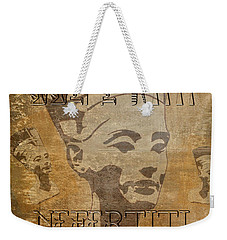 Spirit Of Nefertiti Egyptian Queen   Weekender Tote Bag