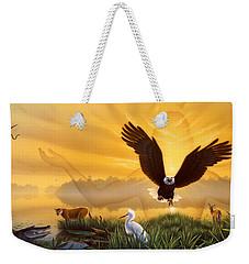 Spirit Of The Everglades Weekender Tote Bag