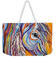 'spirit' War Horse Weekender Tote Bag by Janice Rae Pariza