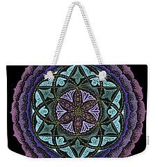 Spiritual Heart Weekender Tote Bag by Keiko Katsuta