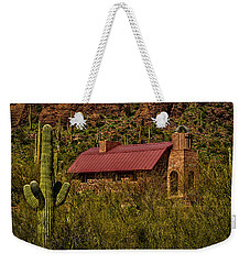 Weekender Tote Bag featuring the photograph Spiritual Oasis by Mark Myhaver