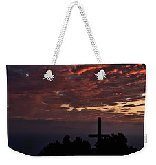 Weekender Tote Bag featuring the photograph Spiritual Retreat by Michael Gordon