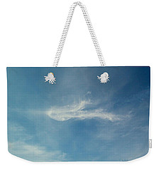 Weekender Tote Bag featuring the photograph Sylph Elemental by Deborah Moen