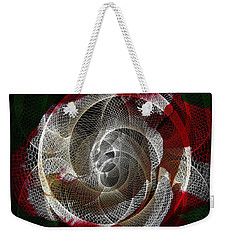 Weekender Tote Bag featuring the photograph Spiro by Athala Carole Bruckner