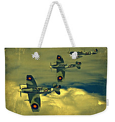 Spitfire Flight Weekender Tote Bag