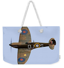 Spitfire Mk 1 R6596 Qj-s Weekender Tote Bag by Gary Eason