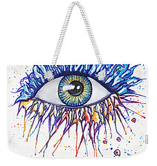 Splash Eye 1 Weekender Tote Bag