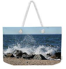 Splash Weekender Tote Bag by Karen Silvestri